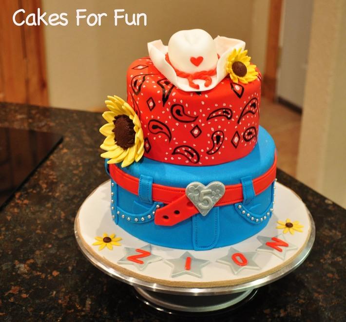 Groovy Cowgirl Birthday Cake Cake Decorating Community Cakes We Bake Funny Birthday Cards Online Fluifree Goldxyz