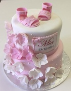 Christening cake for Mia
