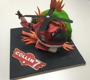 Fire and Rescue cake - Planes