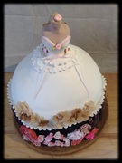 Megan's Bridal Shower Cake