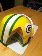 Cut Helmet cake