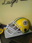 Green Bay Packer Helmet cake