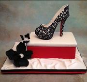 Sugar Shoe Cake  fashion15F