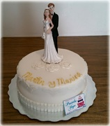 Small wedding cake
