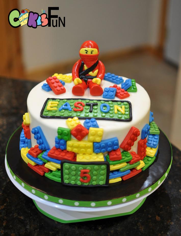 Ninja Lego Cake