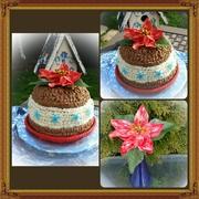 Winter Hat Cake for Lynne