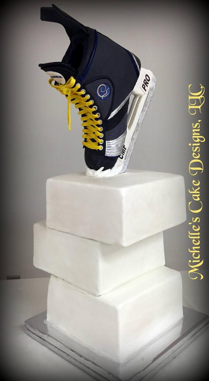 Ice Skate cake