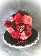 Decadent Valentine's Cake