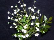 tiny sugar flowers