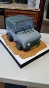 Wrangler Jeep cake