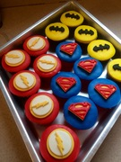 iSuperhero cupcakes