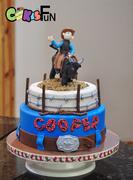 Bull Riding Cake