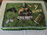 Call Of Duty Black Ops 11 Cake