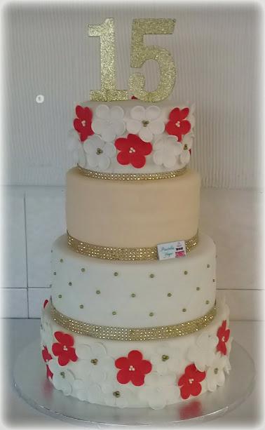 15th bithday cake