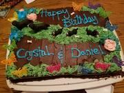 crystal and daniels birthday cake 2017
