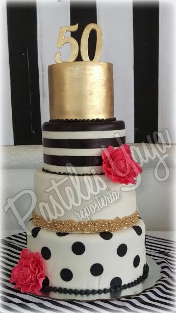 50th Bithday cake