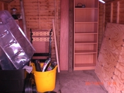 inside my shed