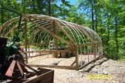 Greenhouse takes shape