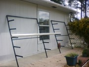 Metal rack for NFT