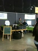 Indiana Earth Day Celebration Aquaponics Association Booth