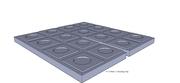4x4x3 Growing Tray