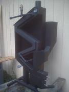 Wiseway pellet stove water heating