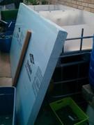 """Major score - 3"""" blue foam for raft. FREE!"""