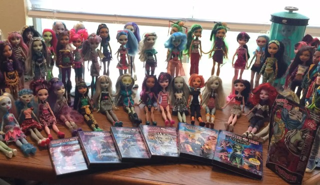 Monster HIgh Collection For Sale