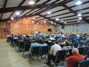 inside the new building at Red River Cowboy Church