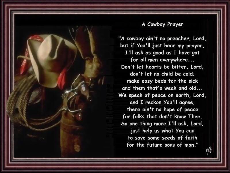 Cowboys Prayer