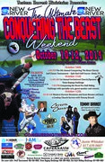 Conquering the Beast Pro Bull Riding Challenge Weatherford,tx