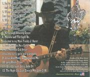 CD Country Gospel Straight From The Horst's Mouth Riny Horst Back Cover