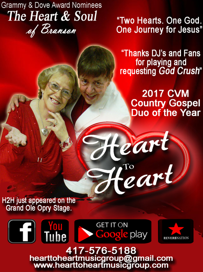 2017 Christian Voice Country Gospel Duo of Year