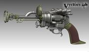 Steampunk pistol Vyctor's lab 3