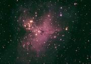 M16 The Eagle nebula reprocessed 9_4_10 CCD b