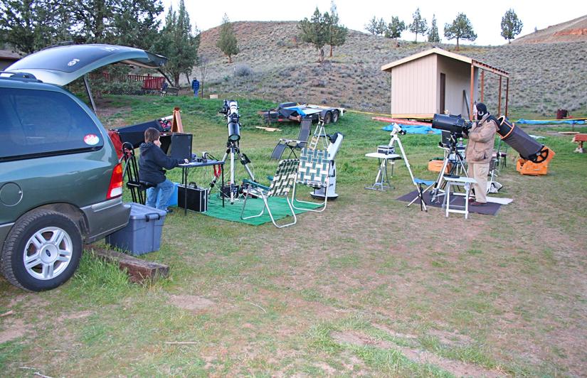 setting up 2