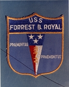 USS Forrest Royal DD 872