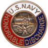 US Navy Honorable Discharge