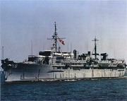 USS Orion AS 18, 1993 oldest ship in the Navy at that time