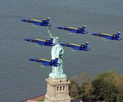Blue Angels and the Lady