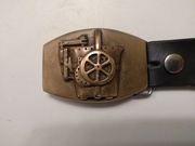 Beltbuckle I earned to make at PSNS Bremerton WA. Foundry. I still wear it proudlly to this day.