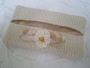 Handwoven tissue holder keepsake