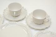 tiffany & co. white porcelain dinnerware