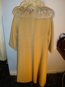 """60's Wool & Fur Trim """" Lilli Ann"""" Coat"""