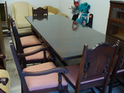 Dining table with matching buffet