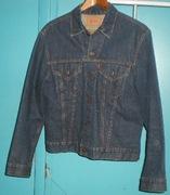 c1960's Levi Big E Denim Jeans Jacket Lightly Worn Super Clean
