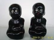 tar babies pottery s&p set