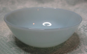 Turquoise Fire-King Dessert Bowl