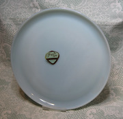 Turquoise Fire-King Dinner Plate