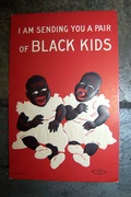 vintage black americana postcard